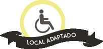 local adaptado minusvalidos